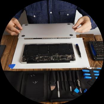 Limpeza interna de Macbook Imac e aparelho Apple