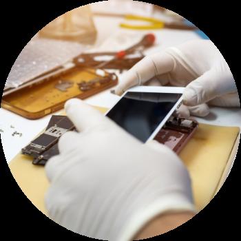 Manutenção de Iphone Conserto de Tela e touch iphone e Smartphones