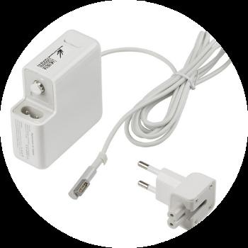 Reparo e manutenção em fontes de energia e carregadores Apple